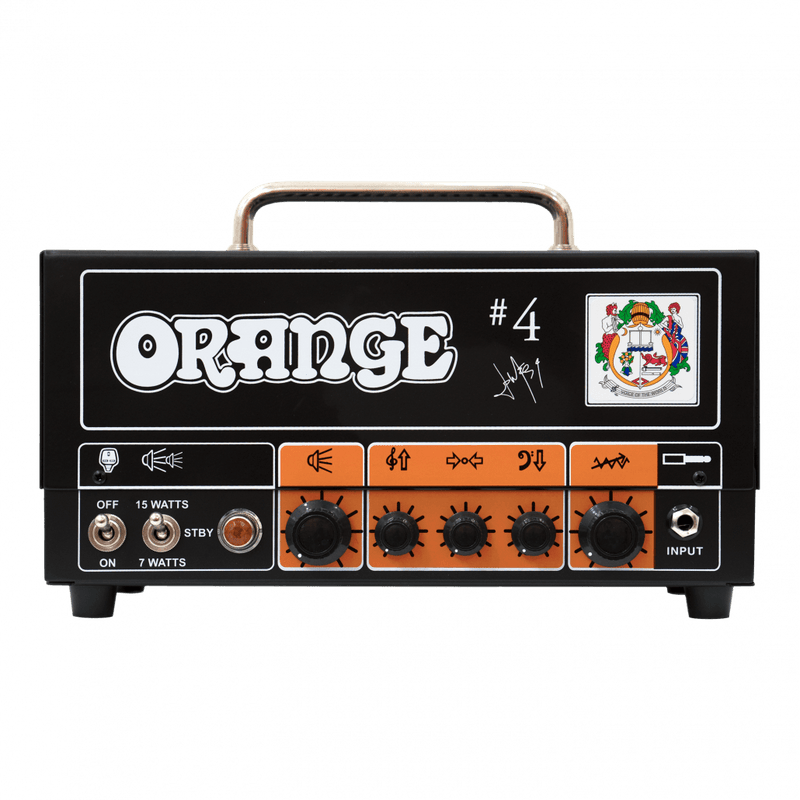 ORANGE SIGNATURE #4 JIM ROOT TERROR FRONT