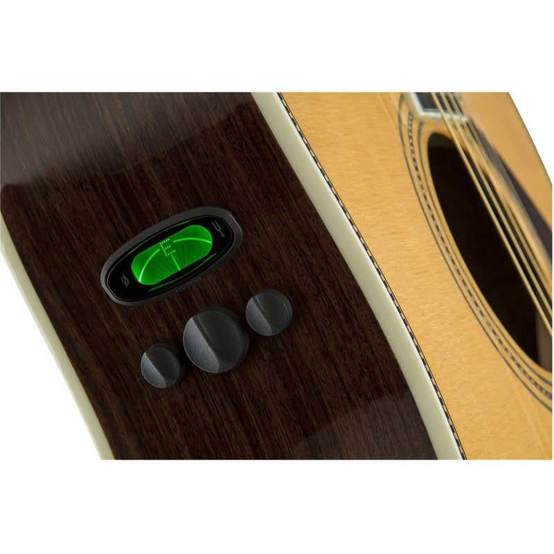 FENDER PARAMOUNT PM-1 DLX DREADNAUGHT TUNER