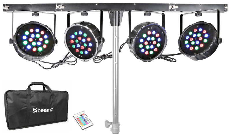 BEAMZBEAMZ LED PARBAR 4WAY / STAND NOT INCLUDED - Harry Green Music World - Buy online