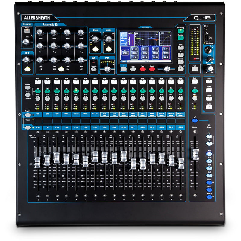 ALLEN & HEATH QU 16C TOP