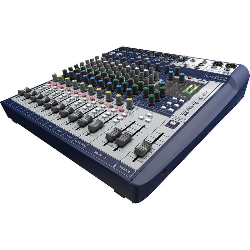SOUNDCRAFT SIGNATURE 12 SIDE