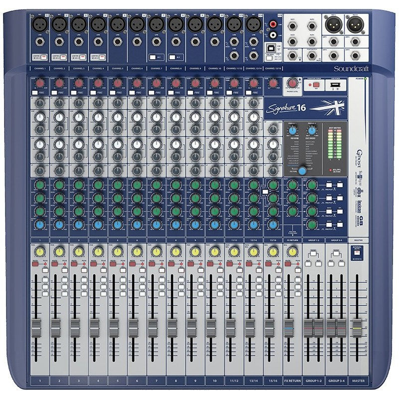 SOUNDCRAFT SIGNATURE 16 TOP