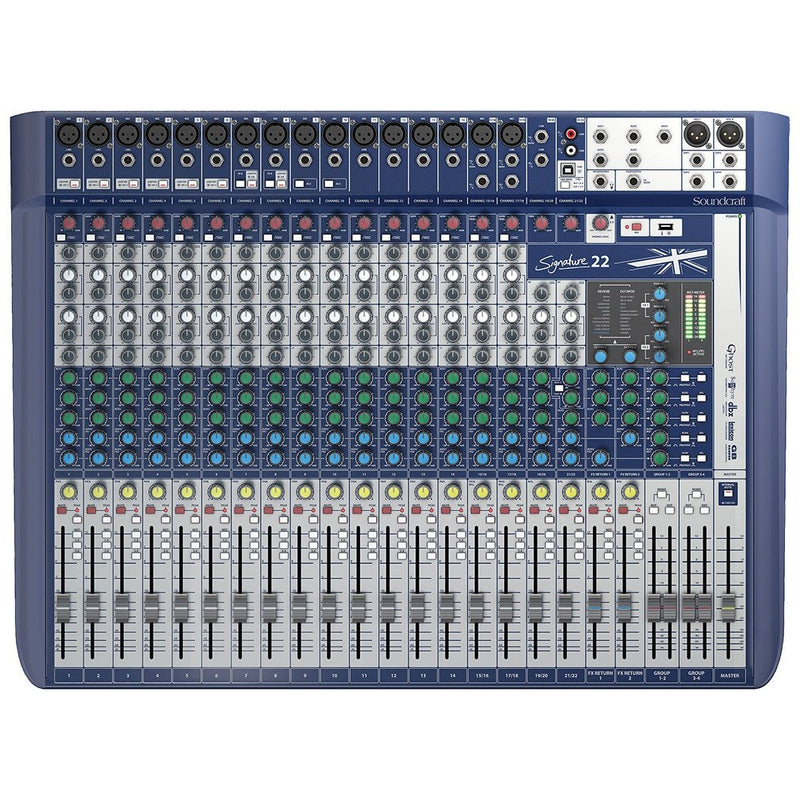 SOUNDCRAFT SIGNATURE 22 TOP