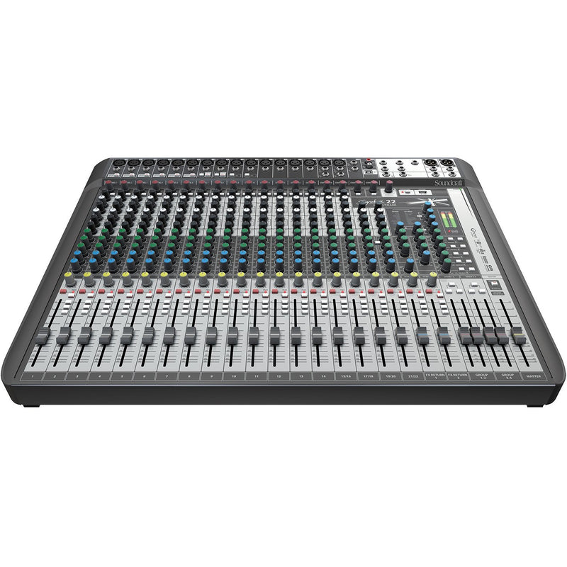 SOUNDCRAFT SIGNATURE 22 MTK FRONT