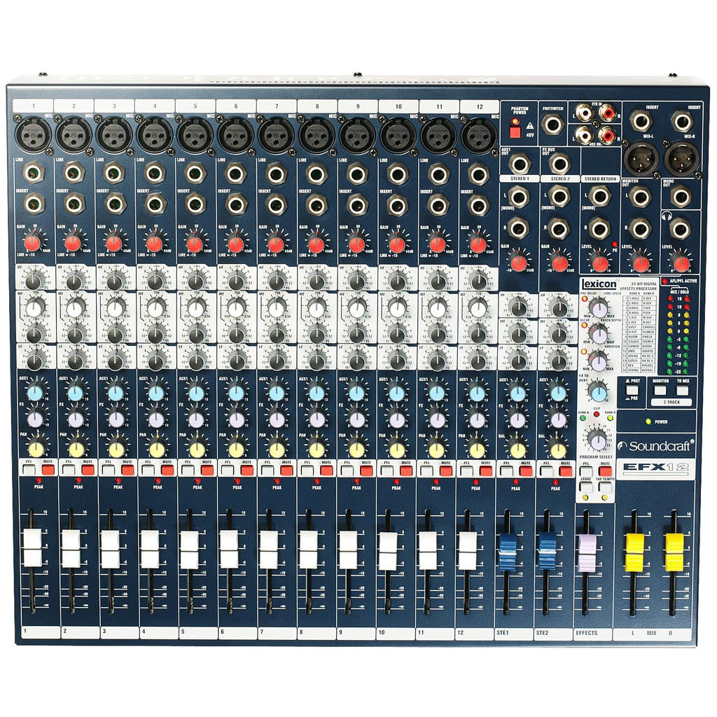 SOUNDCRAFT EFX12 TOP