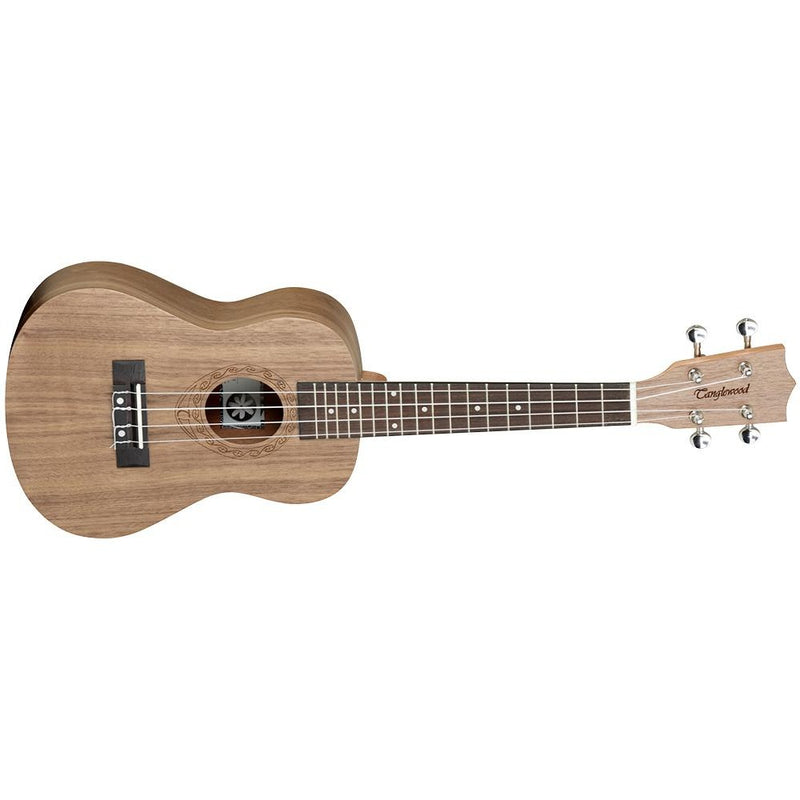 TANGLEWOODTANGLEWOOD TWT3 TIARE UKE CONCERT WALLNUT W/CASE - Harry Green Music World - Buy online