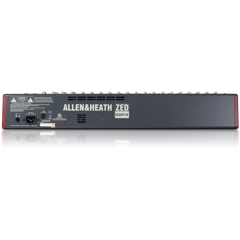 ALLEN & HEATH ZED-22FX BACK