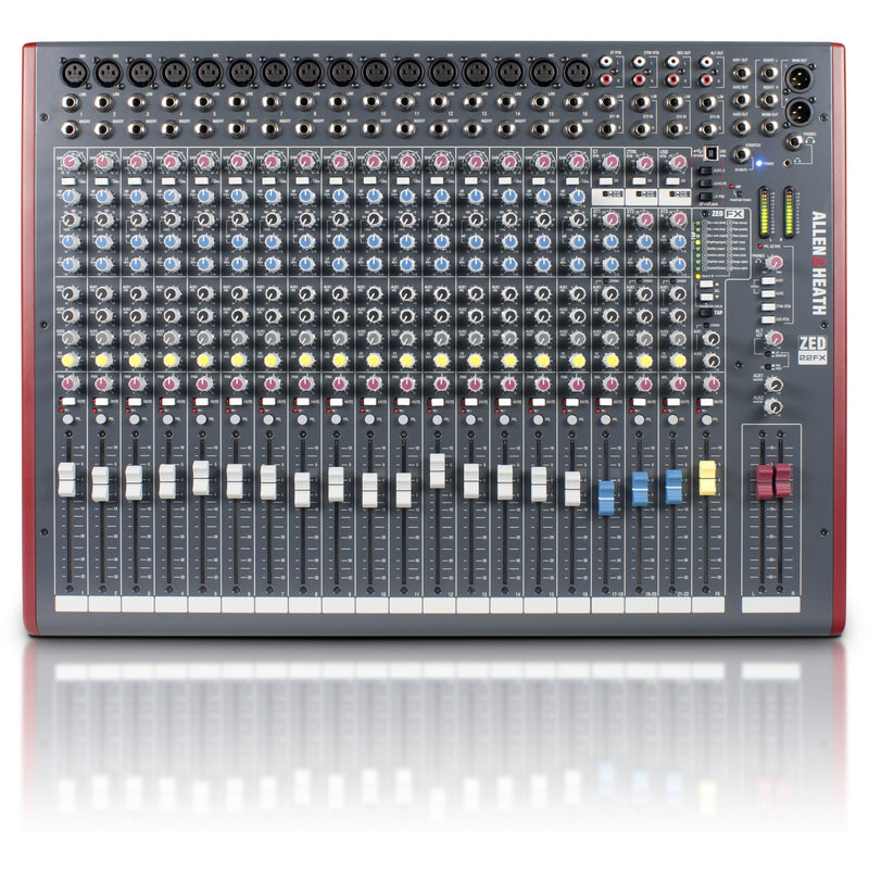 ALLEN & HEATH ZED-22FX TOP