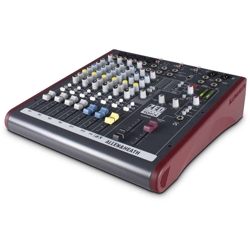 ALLEN & HEATH ZED60-10FX SIDE