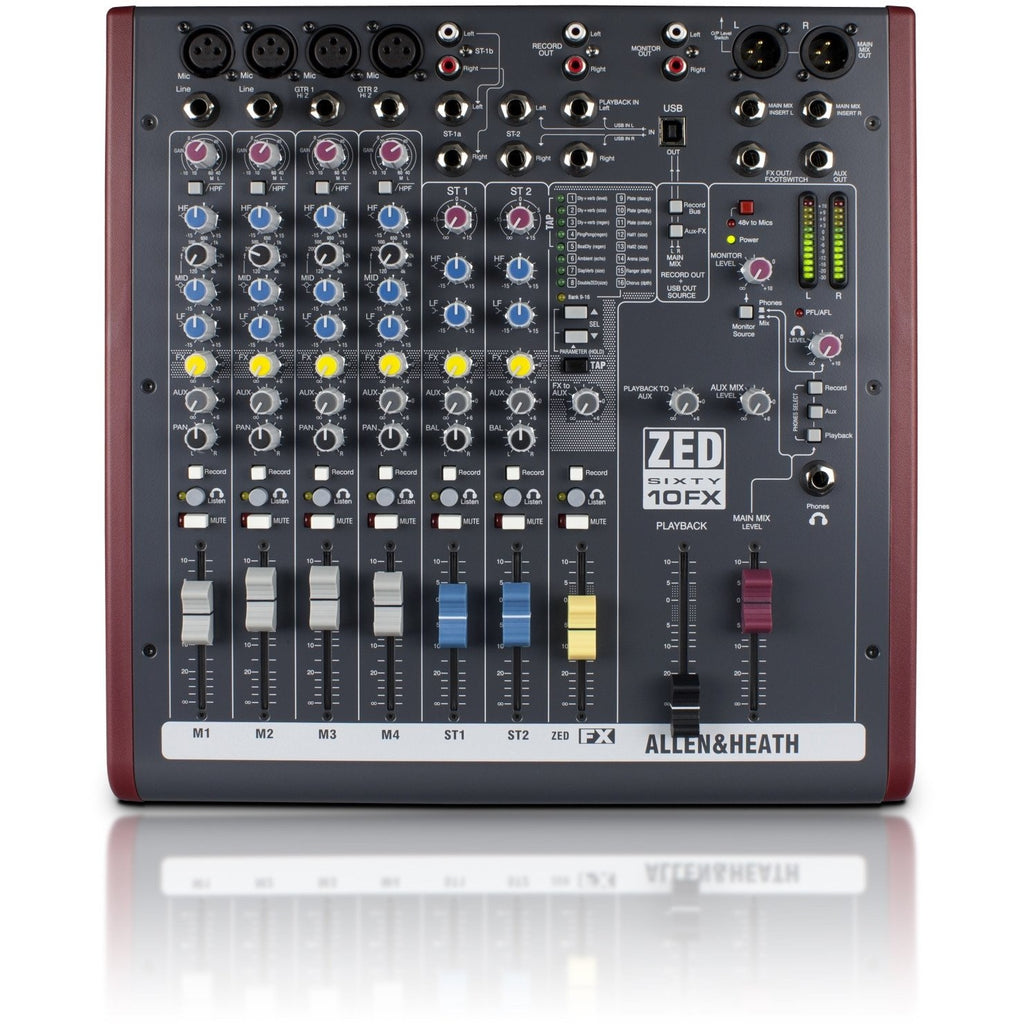 ALLEN & HEATH ZED60-10FX TOP