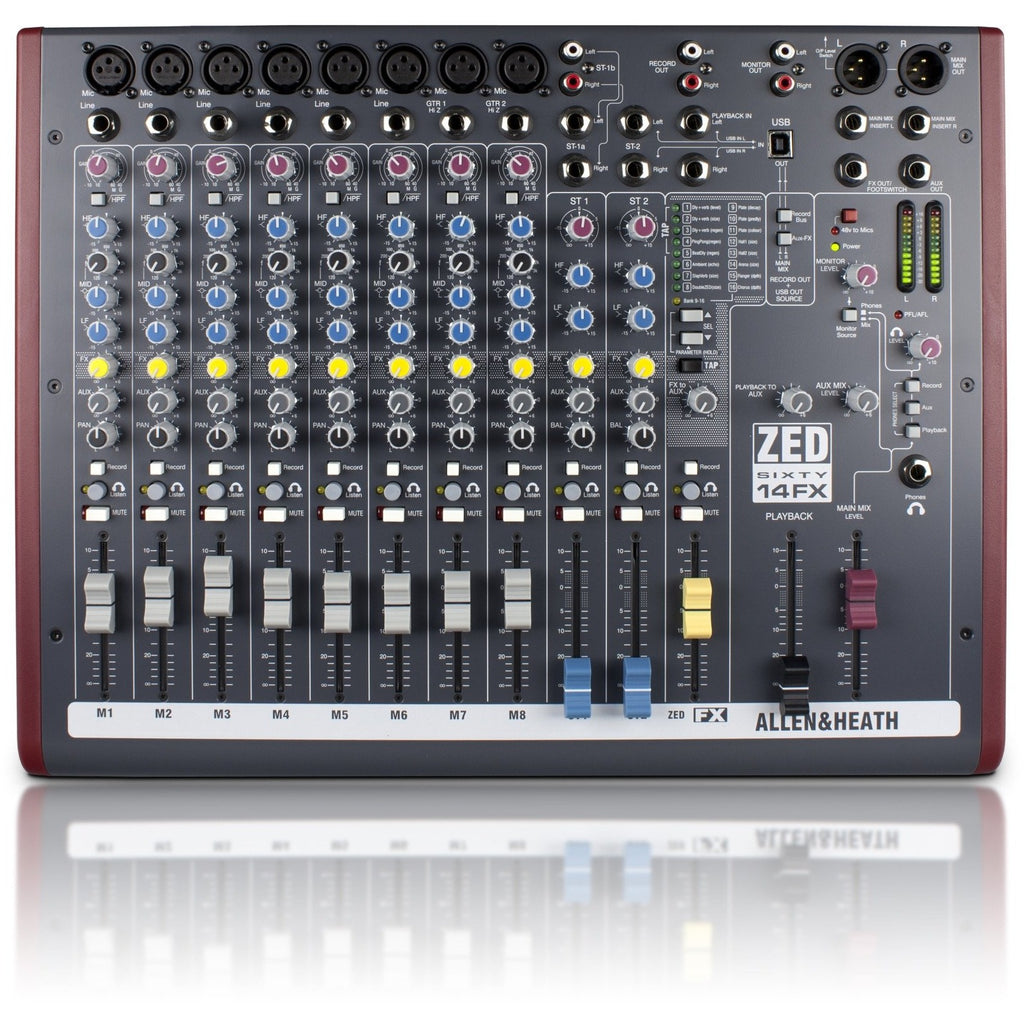 ALLEN & HEATH ZED60-14FX TOP