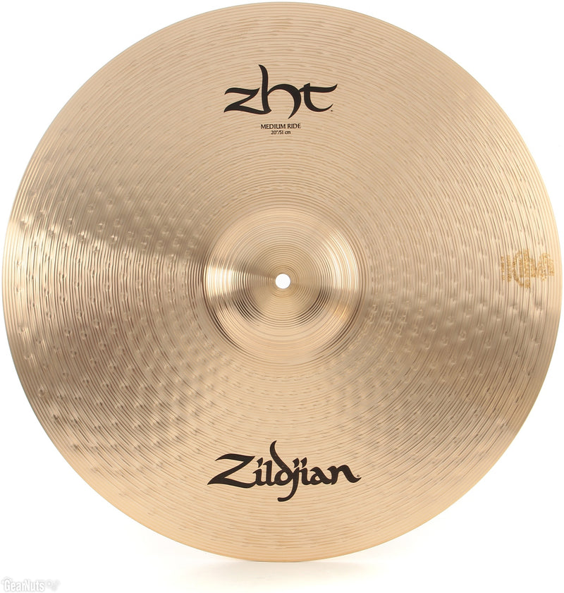 "ZILDJIAN 20"" ZHT CRASH RIDE 2"