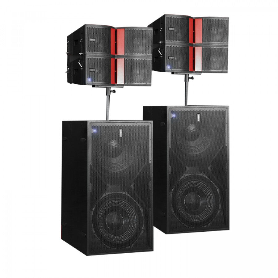 AUDIOCENTERAUDIOCENTER K-LA 28 ACTIVE LINE ARRAY SYSTEM COMBO 1 - Harry Green Music World - Buy online