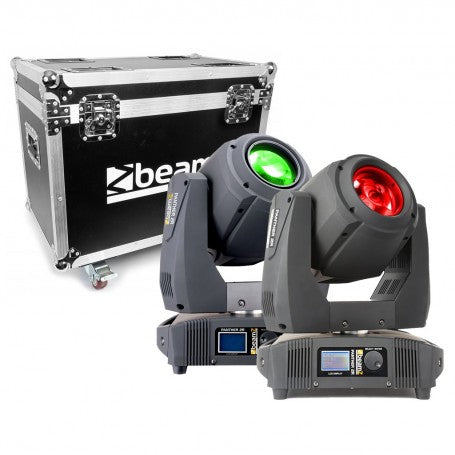 BEAMZBEAMZ 2X PANTHER 2R MOVING HEADS IN FLIGHTCASE - Harry Green Music World - Buy online