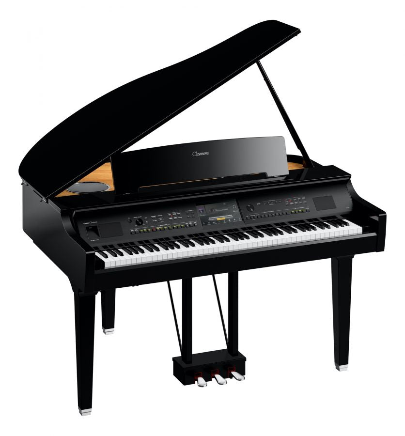 YAMAHA CLAVINOVA CVP-809GP DIGITAL GRAND PIANO - POLISHED EBONY