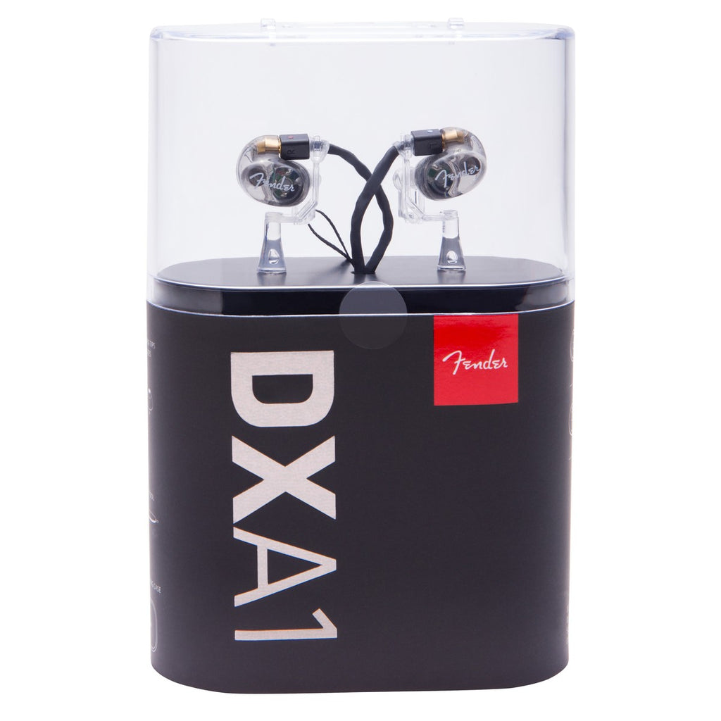 FENDER® DXA1 PRO IN-EAR MONITORS 1