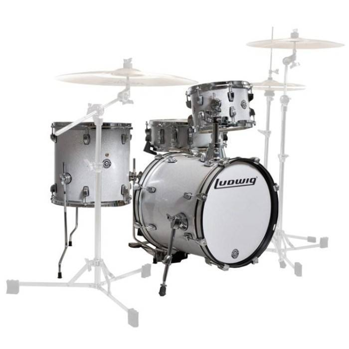 "LUDWIG ""BREAKBEATS BY QUESTLOVE"" 4PC KIT"