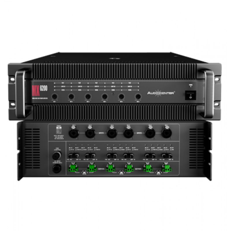 AUDIOCENTER MX6200 AMPLIFIER