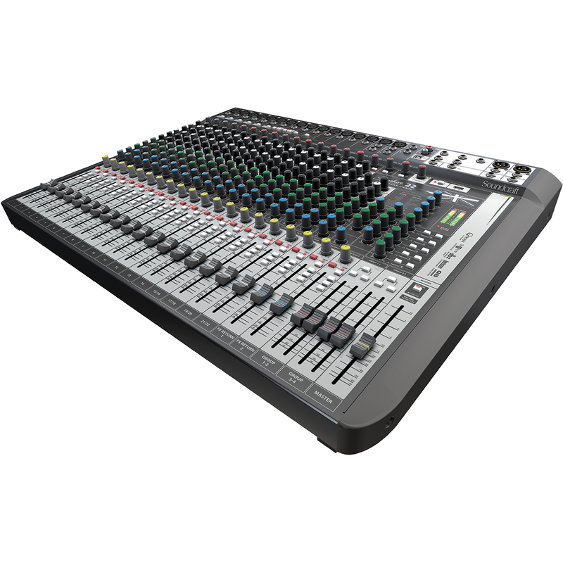 SOUNDCRAFT SIGNATURE 22 MTK SIDE