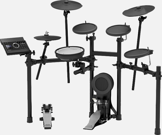 ROLAND TD-17K-L 5-PIECE ELECTRONIC DRUM KIT WITH RUBBER TOMS