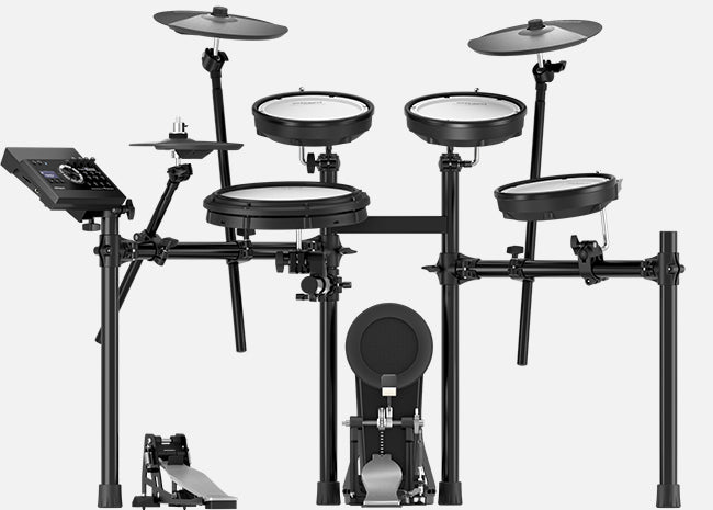 ROLAND TD-17KV 5-PIECE ELECTRONIC DRUM KIT WITH MESH TOMS