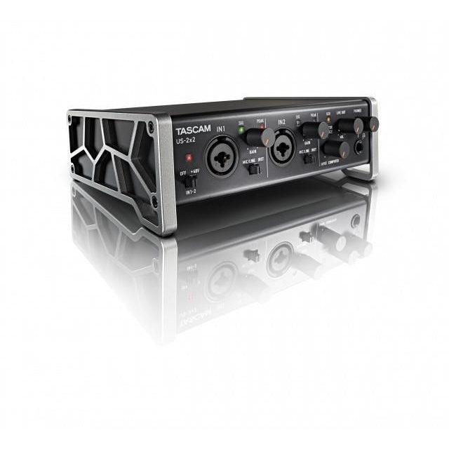 TASCAM US-2X2 SIDE