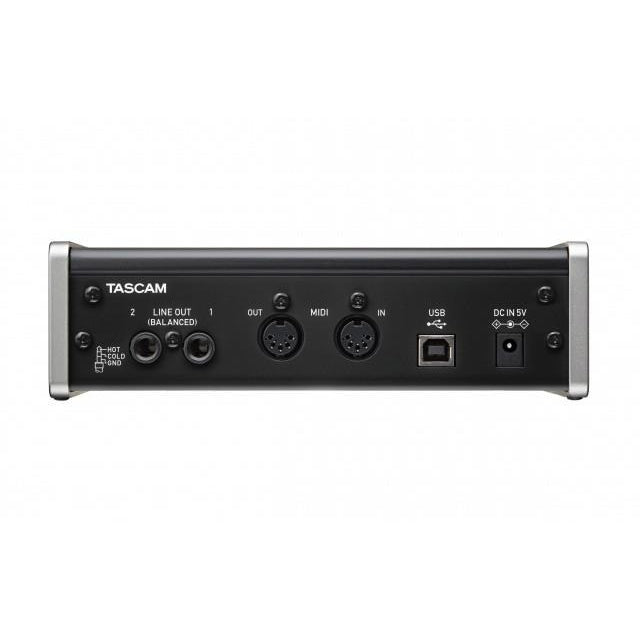 TASCAM US-2X2 BACK