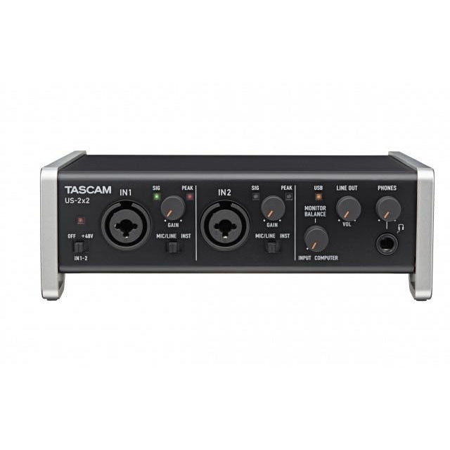 TASCAM US-2X2 FRONT