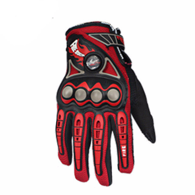 PRO-BIKER Enduro Gloves - Red