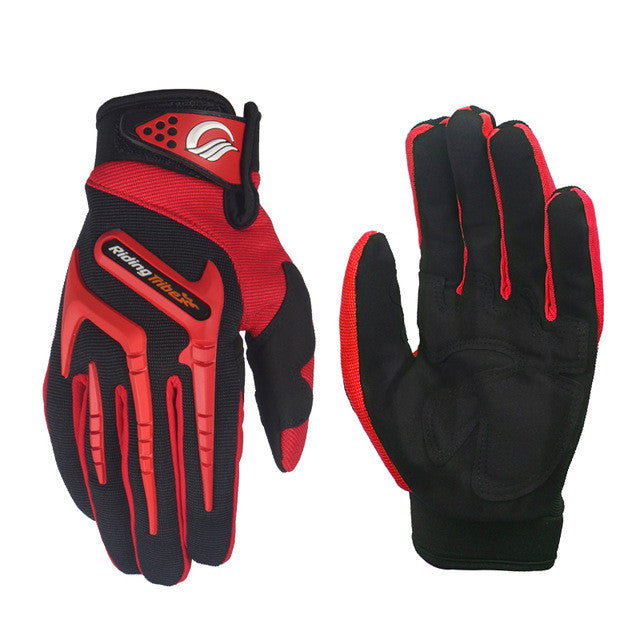 Riding Tribe Gloves - Red