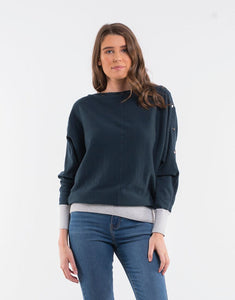 Foxwood Baxtor Sweater - Teal