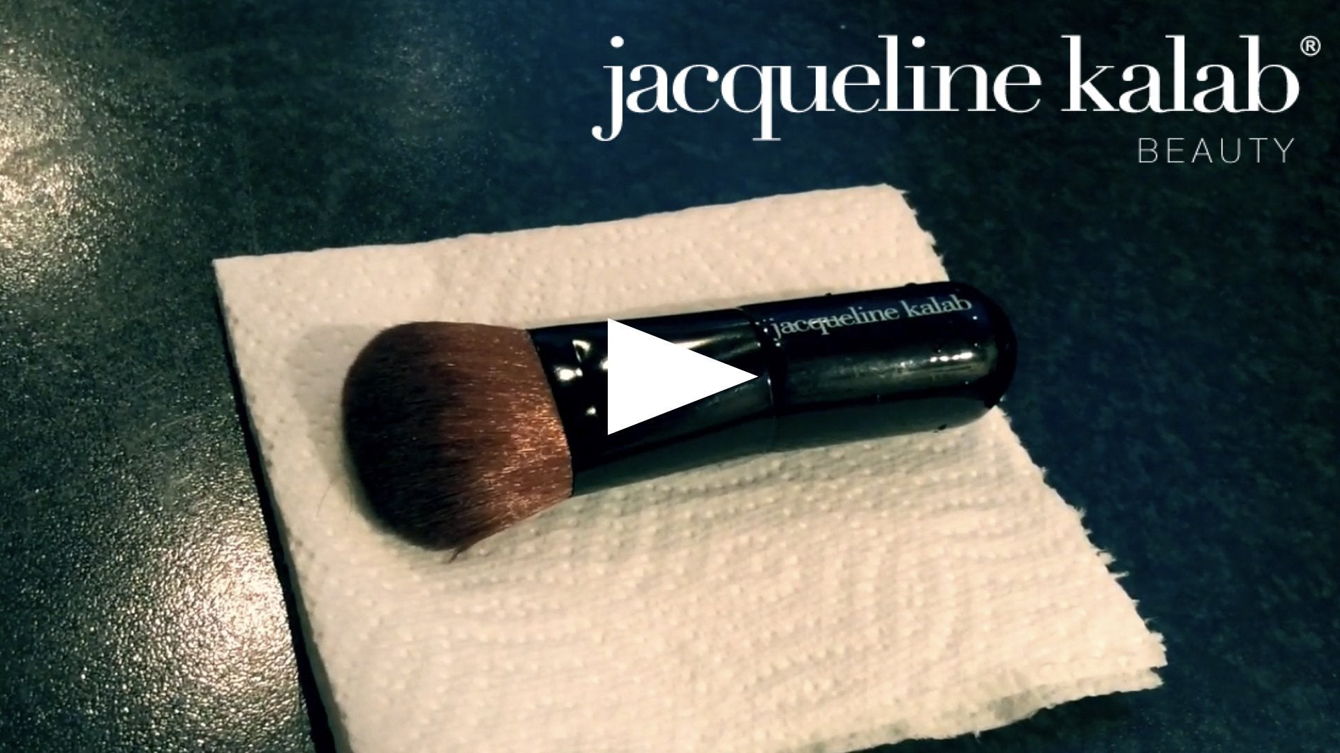 How to Clean Makeup Brushes | Jacqueline Kalab Beauty