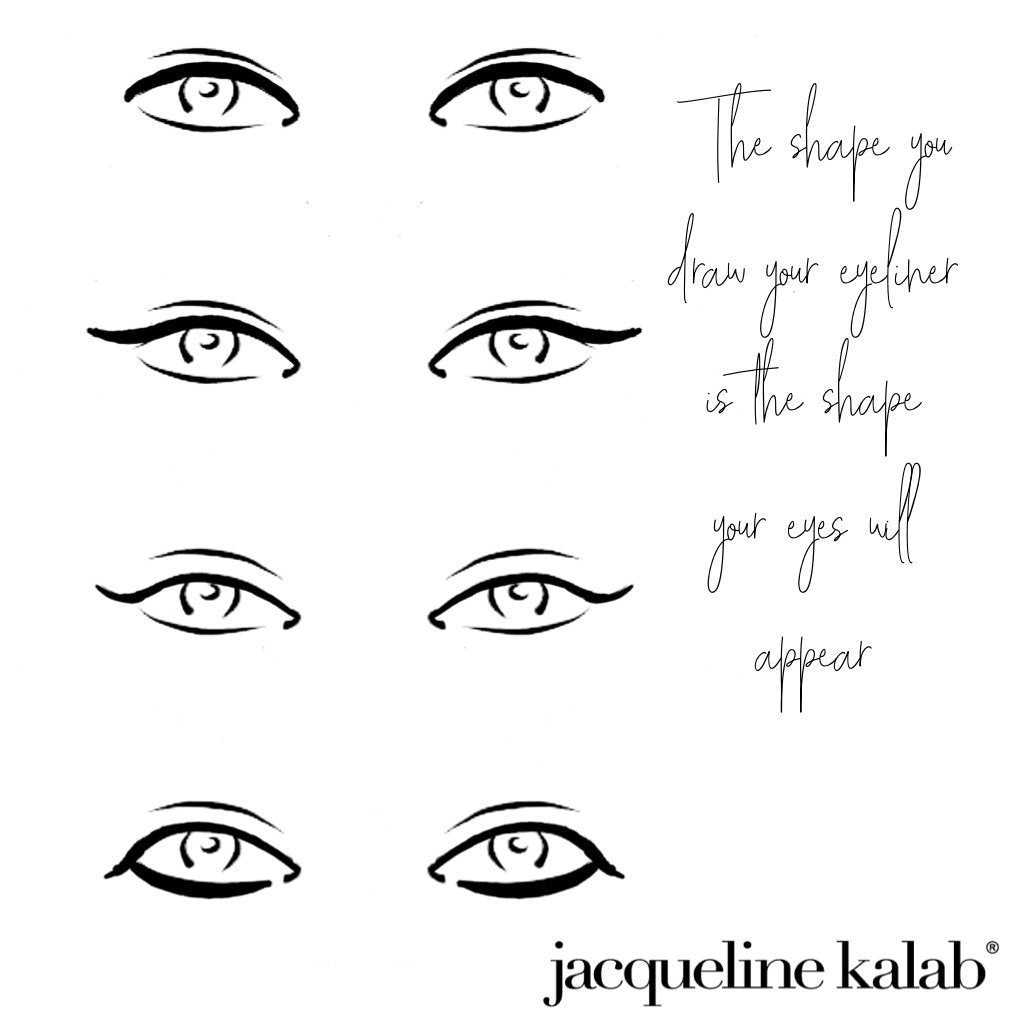 How to Draw Eyeliner - Introduction | Jacqueline Kalab Beauty