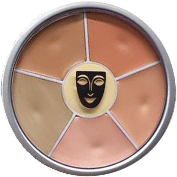 Concealer Wheel by Kryolan Cosmetics - Super Powerful TV Strength Concealer