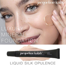 Load image into Gallery viewer, Liquid Silk Opulence - Luxury Mineral Foundation, by Jacqueline Kalab - Long Awaited - MyMakeup.Store by Jacqueline Kalab