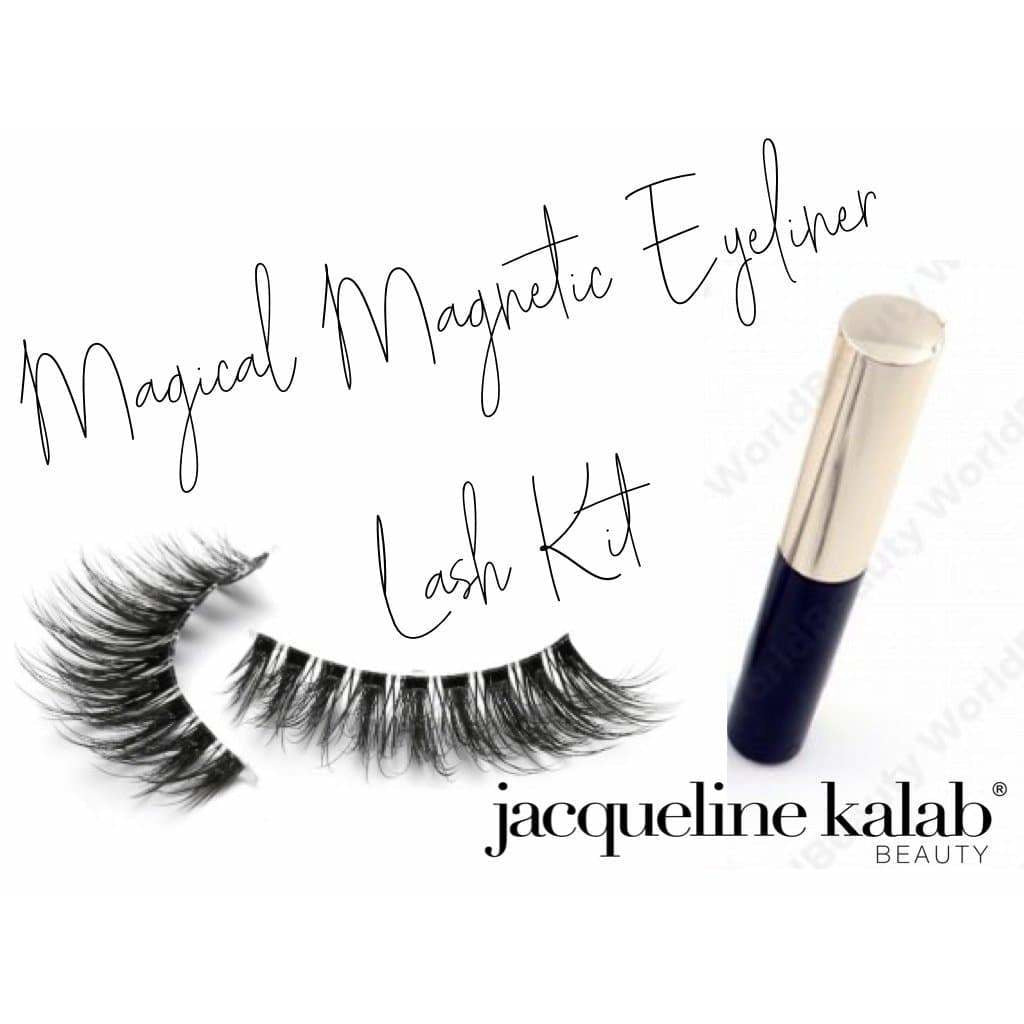 Magical Magnetic Eyliner & Eyelashes Kit BRAND NEW PRODUCT - MyMakeup.Store by Jacqueline Kalab