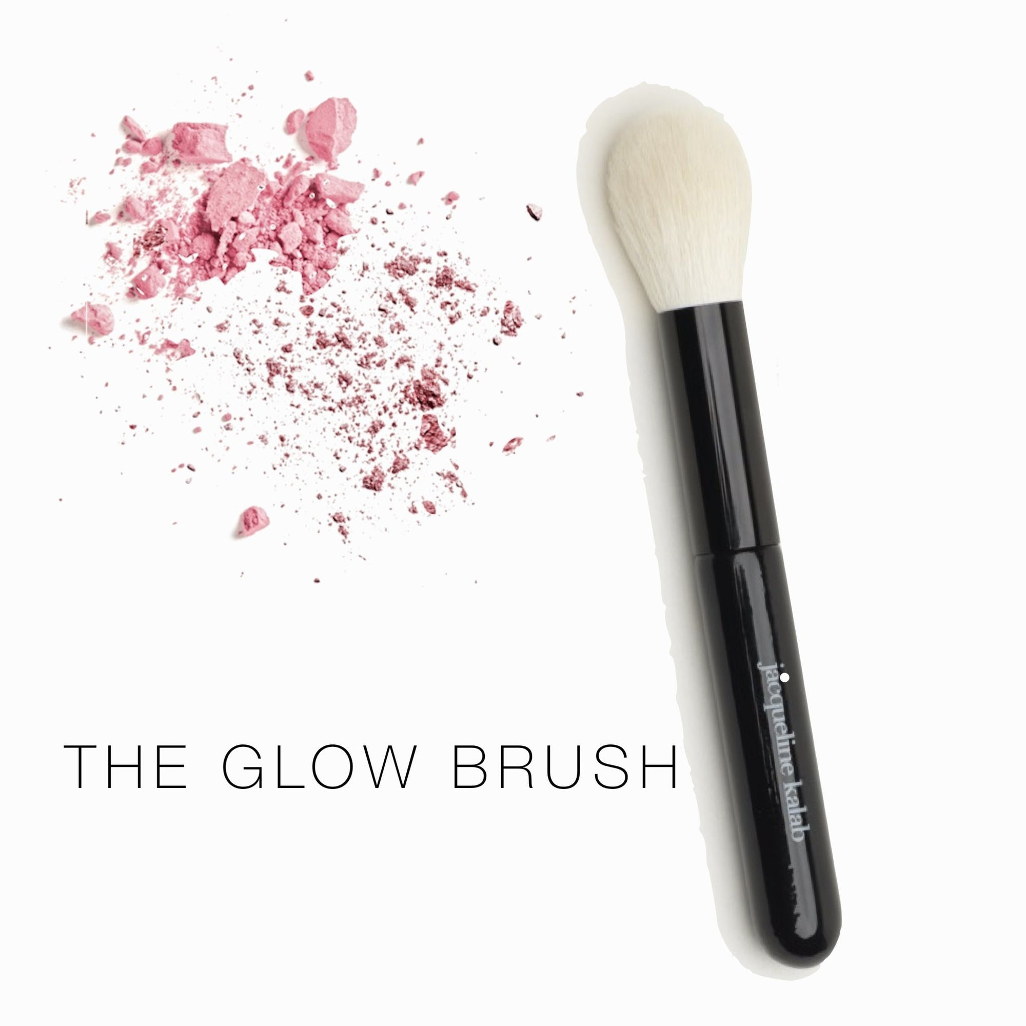 The Glow Brush - For Bronzer, Blush, and all Powders - Jacqueline Kalab Beauty