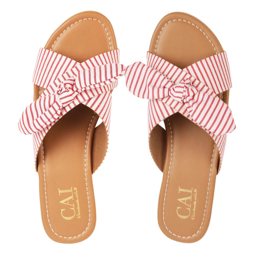 Summer candy red stripes