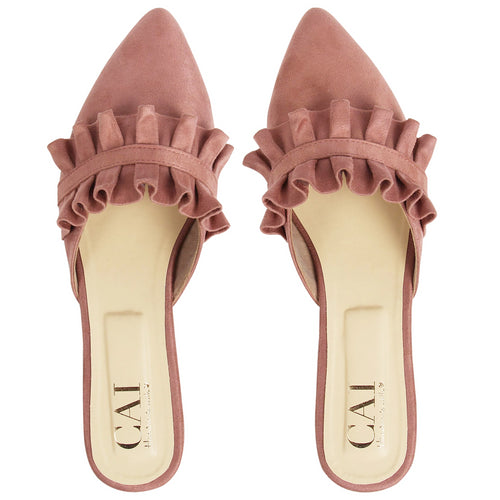 Blush Twin Ruffle