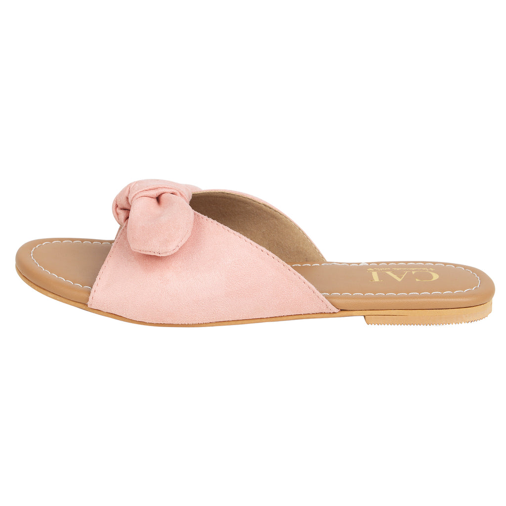 Knotty Slides Blush