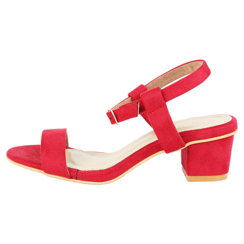 Ankle Strap Red Shorty