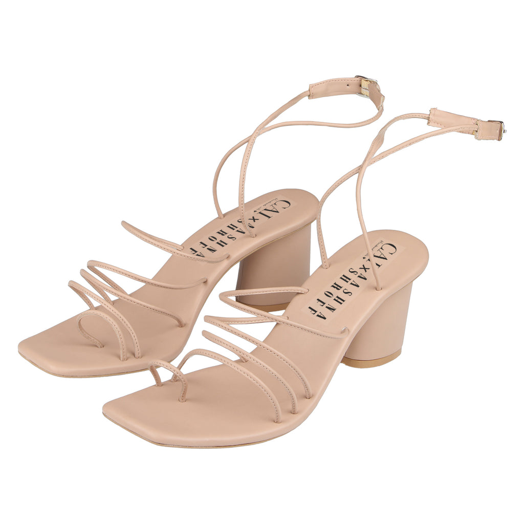 Life in Loops strappy heels