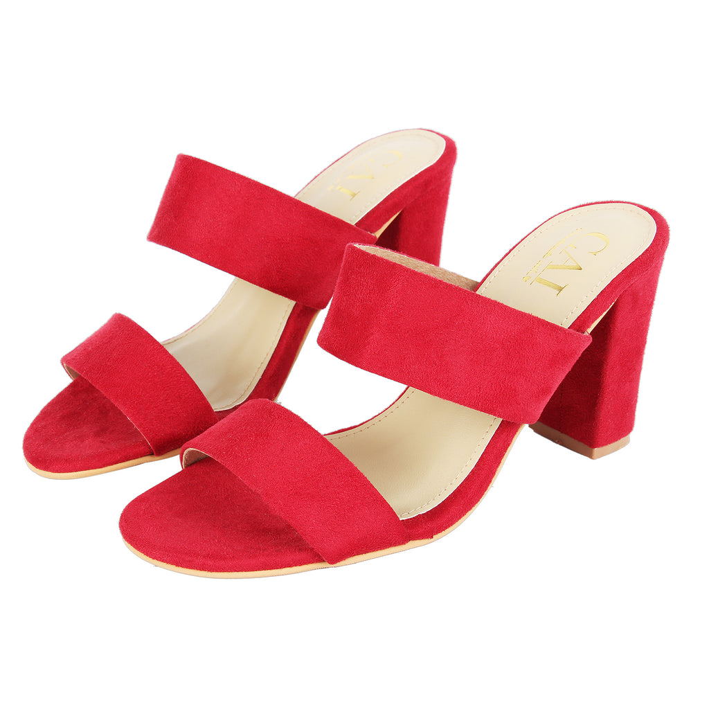 Twin Strap Red