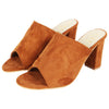 Brown Muled Heels