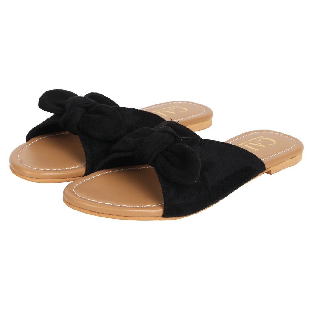 Knotty Slides Black