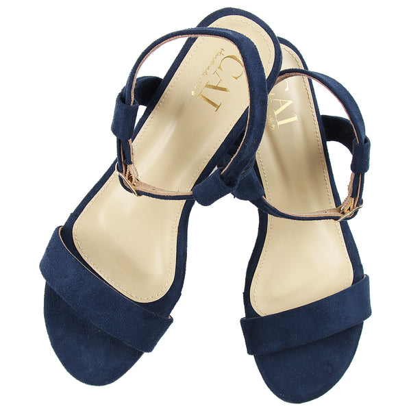 Ankle Strap Blue Shorty