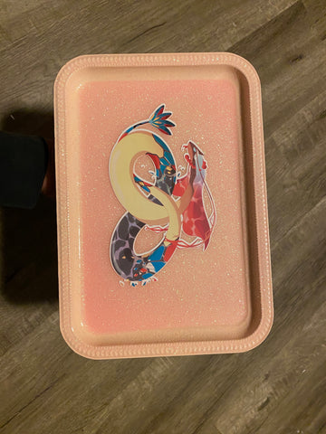 Milotic Pokédex Inspired Rolling tray