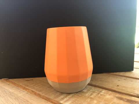 180ml Orange Cement Candle