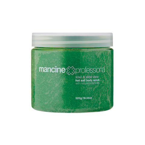 Mancine Hot Salt Body Scrub: Rose & Vitamin E