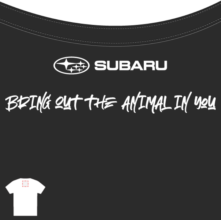Subaru Tee - Animal Print (Mens)